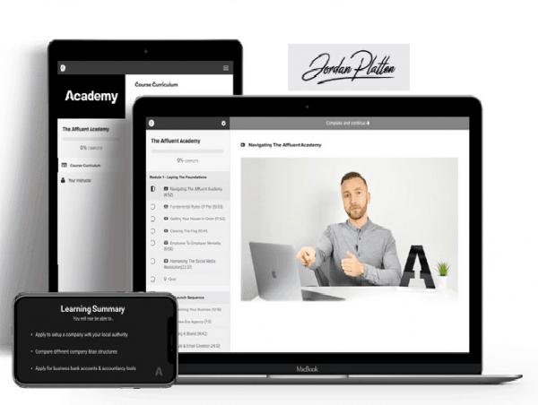 GET Jordan Platten Affluent academy free download