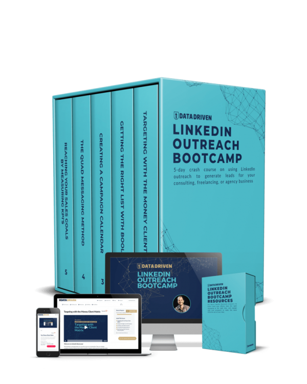 data driven linkedin outreach bootcamp by Isaac Anderson